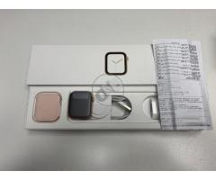 Apple Watch 4 44mm Gold Aluminum Case Pink Sand Sport Loop